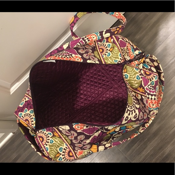 b0255e5e4e9 ... Bags  hot sale online bb714 9e832 Vera Bradley iconic large travel  duffel ...
